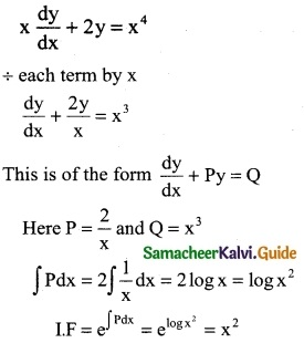 Samacheer Kalvi 12th Business Maths Guide Chapter 4 Differential Equations Miscellaneous Problems 6