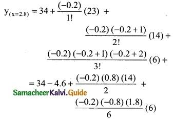 Samacheer Kalvi 12th Business Maths Guide Chapter 5 Numerical Methods Ex 5.2 18