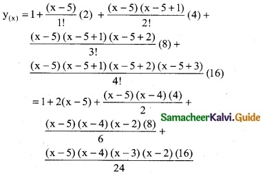 Samacheer Kalvi 12th Business Maths Guide Chapter 5 Numerical Methods Miscellaneous Problems 15