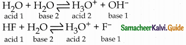 Samacheer Kalvi 12th Chemistry Guide Chapter 8 Ionic Equilibrium 1
