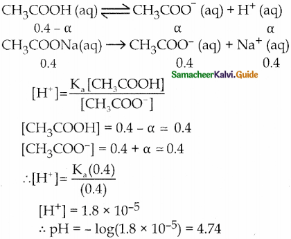 Samacheer Kalvi 12th Chemistry Guide Chapter 8 Ionic Equilibrium 39