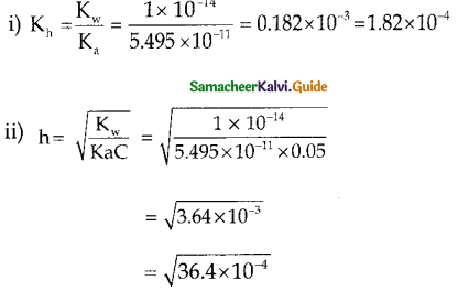 Samacheer Kalvi 12th Chemistry Guide Chapter 8 Ionic Equilibrium 43