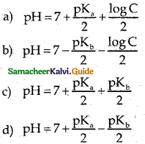 Samacheer Kalvi 12th Chemistry Guide Chapter 8 Ionic Equilibrium 48