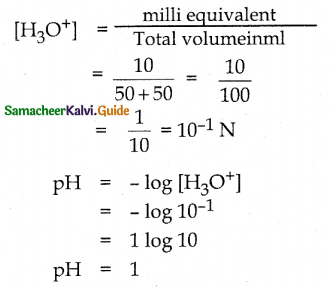 Samacheer Kalvi 12th Chemistry Guide Chapter 8 Ionic Equilibrium 70