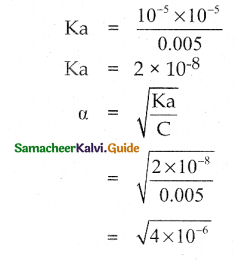 Samacheer Kalvi 12th Chemistry Guide Chapter 8 Ionic Equilibrium 72