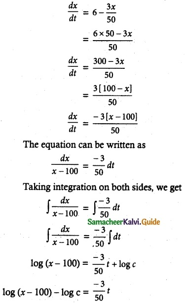 Samacheer Kalvi 12th Maths Guide Chapter 10 Ordinary Differential Equations Ex 10.8 13
