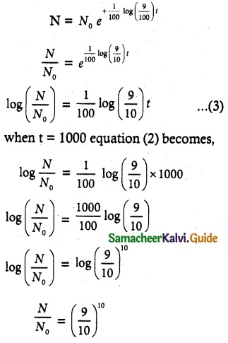 Samacheer Kalvi 12th Maths Guide Chapter 10 Ordinary Differential Equations Ex 10.8 4