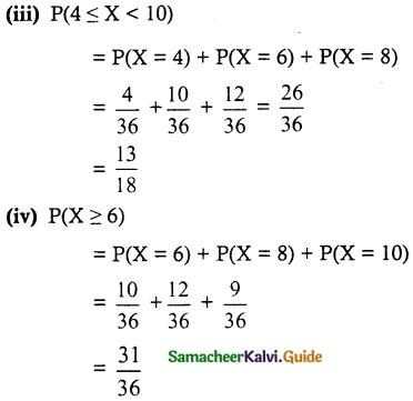 Samacheer Kalvi 12th Maths Guide Chapter 11 Probability Distributions Ex 11.2 8