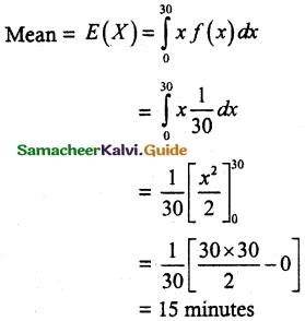 Samacheer Kalvi 12th Maths Guide Chapter 11 Probability Distributions Ex 11.4 12