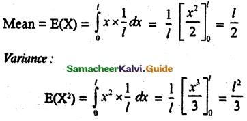 Samacheer Kalvi 12th Maths Guide Chapter 11 Probability Distributions Ex 11.6 4