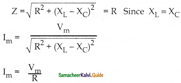 Samacheer Kalvi 12th Physics Guide Chapter 4 Electromagnetic Induction and Alternating Current 78