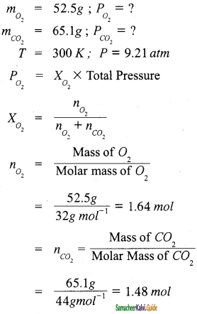 Samacheer Kalvi 11th Chemistry Guide Chapter 6 Gaseous State 6