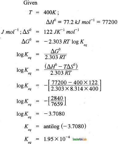 Samacheer Kalvi 11th Chemistry Guide Chapter 7 Thermodynamics 8