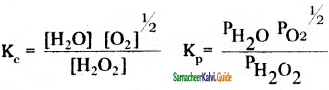 Samacheer Kalvi 11th Chemistry Guide Chapter 8 Physical and Chemical Equilibrium 27
