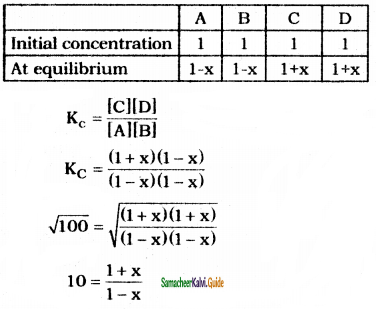 Samacheer Kalvi 11th Chemistry Guide Chapter 8 Physical and Chemical Equilibrium 34