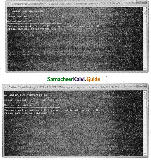Samacheer Kalvi 11th Computer Science Guide Chapter 10 Flow of Control 31
