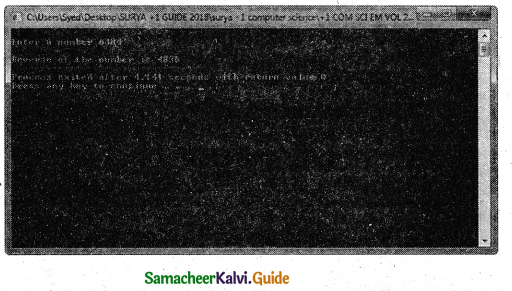 Samacheer Kalvi 11th Computer Science Guide Chapter 11 Functions 1