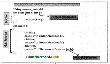 Samacheer Kalvi 11th Computer Science Guide Chapter 11 Functions 3