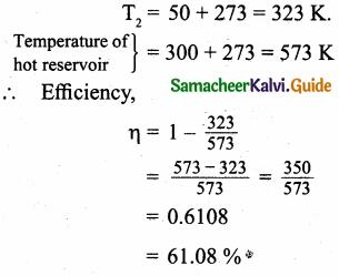 Samacheer Kalvi 11th Physics Guide Chapter 8 Heat and Thermodynamics 67