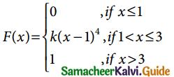 Samacheer Kalvi 12th Business Maths Guide Chapter 6 Random Variable and Mathematical Expectation Ex 6.1 12