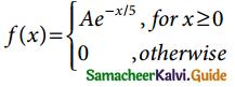 Samacheer Kalvi 12th Business Maths Guide Chapter 6 Random Variable and Mathematical Expectation Ex 6.1 13