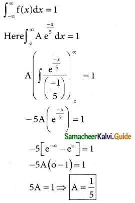 Samacheer Kalvi 12th Business Maths Guide Chapter 6 Random Variable and Mathematical Expectation Ex 6.1 14