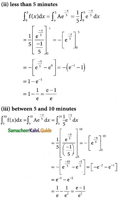 Samacheer Kalvi 12th Business Maths Guide Chapter 6 Random Variable and Mathematical Expectation Ex 6.1 16