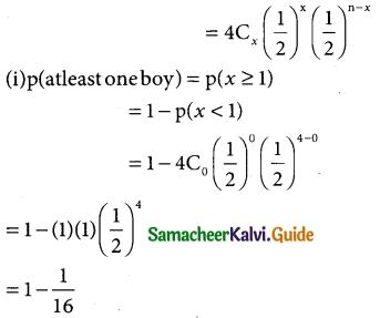 Samacheer Kalvi 12th Business Maths Guide Chapter 7 Probability Distributions Ex 7.1 15
