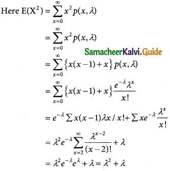 Samacheer Kalvi 12th Business Maths Guide Chapter 7 Probability Distributions Ex 7.2 3