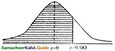 Samacheer Kalvi 12th Business Maths Guide Chapter 7 Probability Distributions Ex 7.3 10