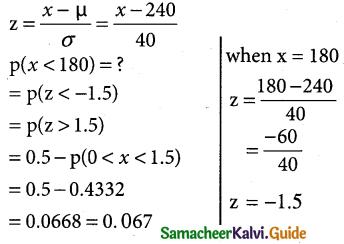 Samacheer Kalvi 12th Business Maths Guide Chapter 7 Probability Distributions Ex 7.4 11