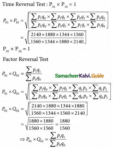 Samacheer Kalvi 12th Business Maths Guide Chapter 9 Applied Statistics Ex 9.2 11