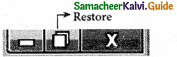 Samacheer Kalvi 11th Computer Applications Guide Chapter 6 Word Processor Basics (OpenOffice Writer) 10