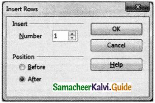Samacheer Kalvi 11th Computer Applications Guide Chapter 6 Word Processor Basics (OpenOffice Writer) 3
