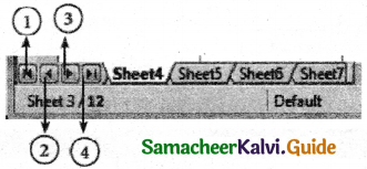 Samacheer Kalvi 11th Computer Applications Guide Chapter 7 Spreadsheets Basics (OpenOffice Calc) 7