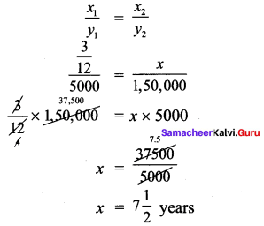 Samacheer Kalvi 7th Maths Solutions Term 1 Chapter 4 Direct and Inverse Proportion Ex 4.3 19