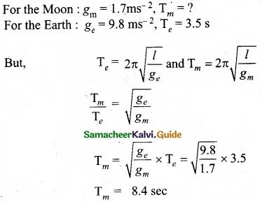 Tamil Nadu 11th Physics Model Question Paper 2 English Medium img 18