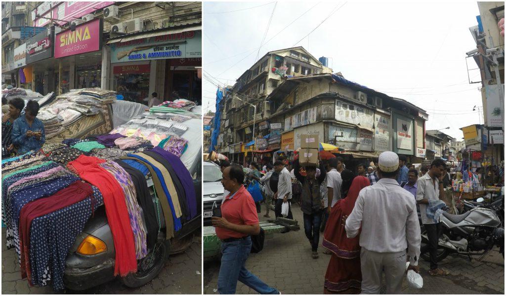 Crazy market Mumbai Style