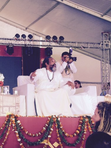satsang with mooji in india