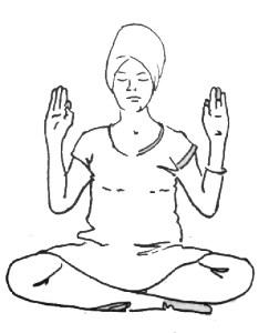 meditación radiante
