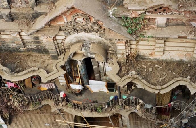 A heritage site in Farashganj, Dhaka, Bangladesh