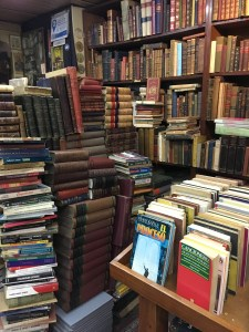 Dusty tomes in a secondhand bookstore, Buenos Aires