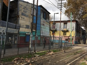 The real face of La Boca - rough and gritty