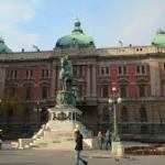 セルビア~ベオグラード国立博物館は閉館中の模様