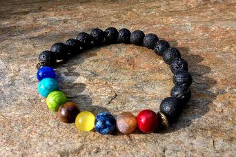 Multicolor kamieni