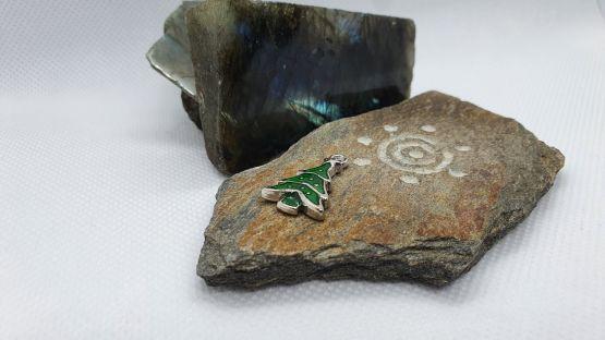Zawieszka zielona choinka