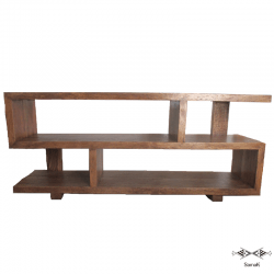 meuble tv en bois de palmier design