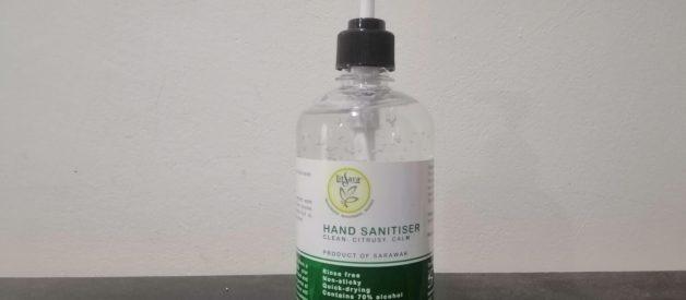 Premium LitSara® Hand Sanitizer by Sarawak, Malaysia