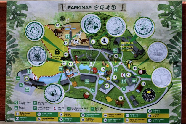 Borneo Happy Farm Map and Checkpoints