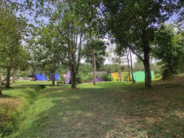 camping site at sumiran eco-camp